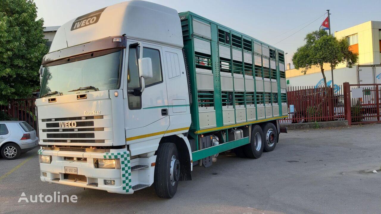 IVECO Eurostar 240E42 livestock truck