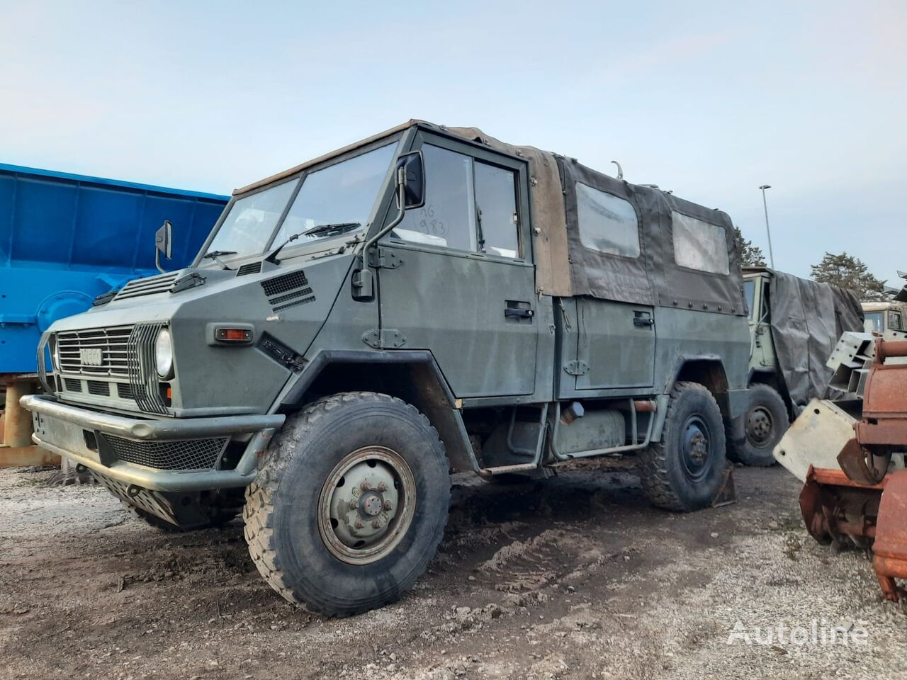 IVECO VM 90 military truck
