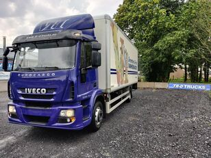 IVECO EuroCargo 150 e22 insulated box with taillift dhollandia refrigerated truck