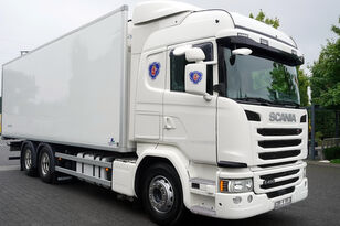 SCANIA G490, Meat hooks , 19 EPAL  refrigerated truck
