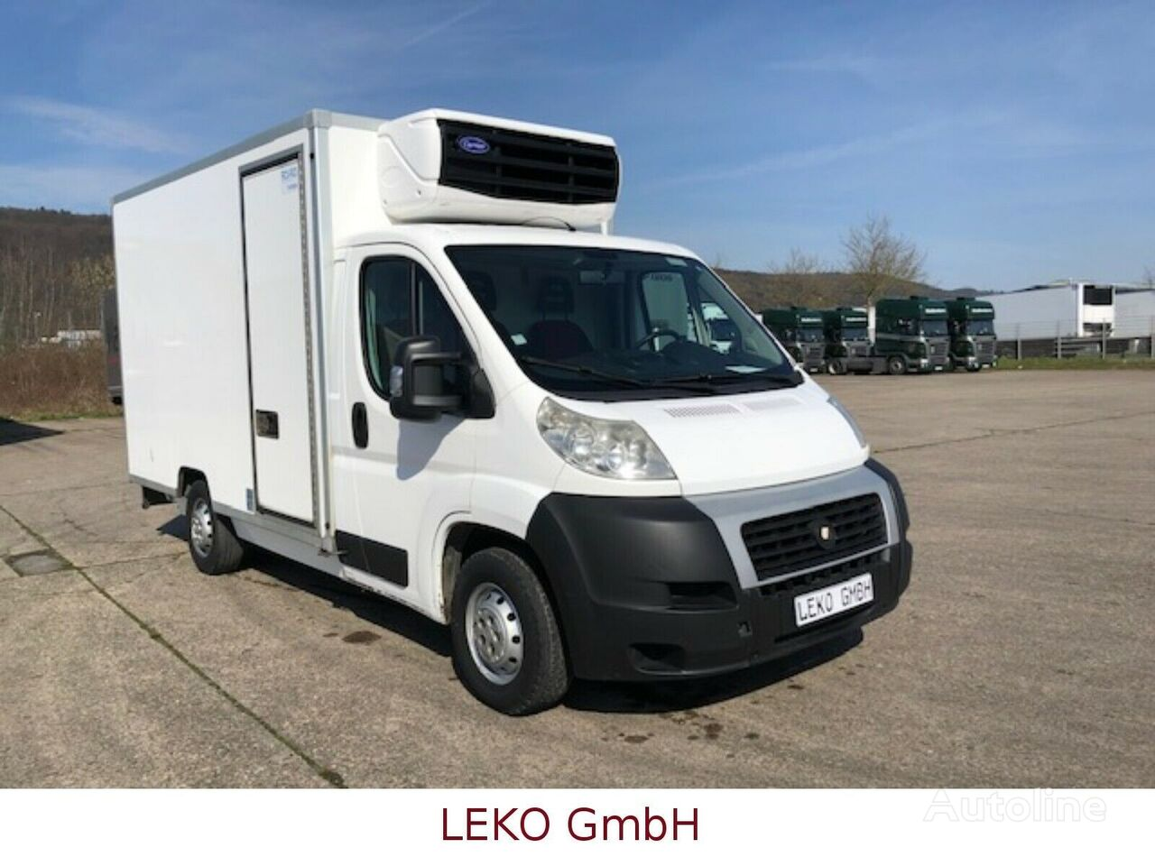 FIAT Ducato refrigerated truck