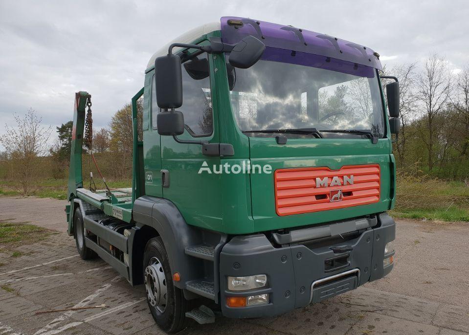 MAN 18.363 skip loader truck