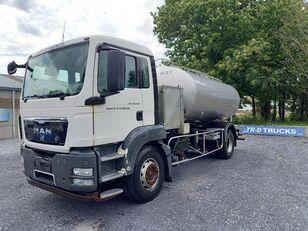 MAN TGS 18.360 - citerne en inox isotherme-2 compartiments tanker truck