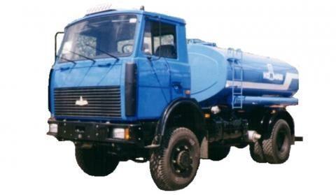 new MAZ KT-506  tanker truck