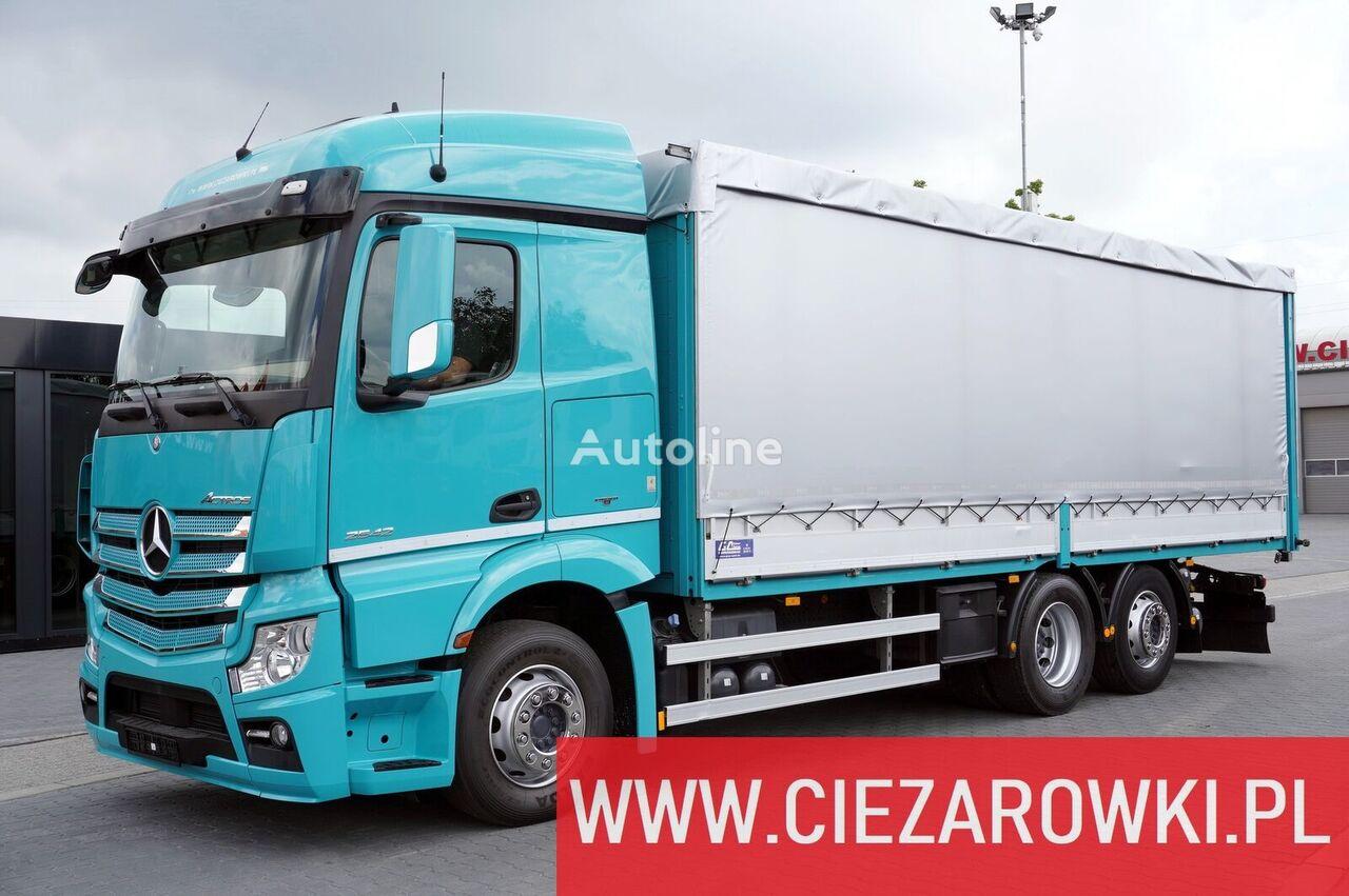 MERCEDES-BENZ Actros 2542 , STEEL TRANSPORT , E6 , 6x2 , Retarder , lift/steer tilt truck