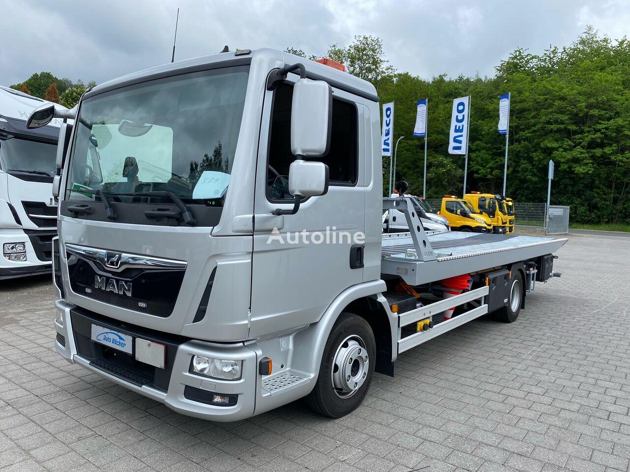 MAN TGL 8.190 FG mit neuem Schiebeplateau tow truck