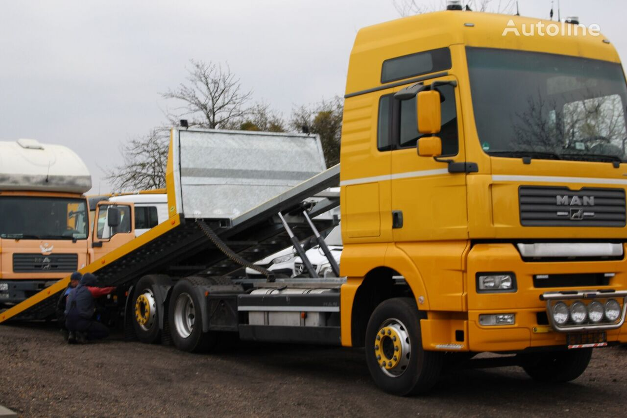 new MERCEDES-BENZ najazd pomoc drogowa tow truck