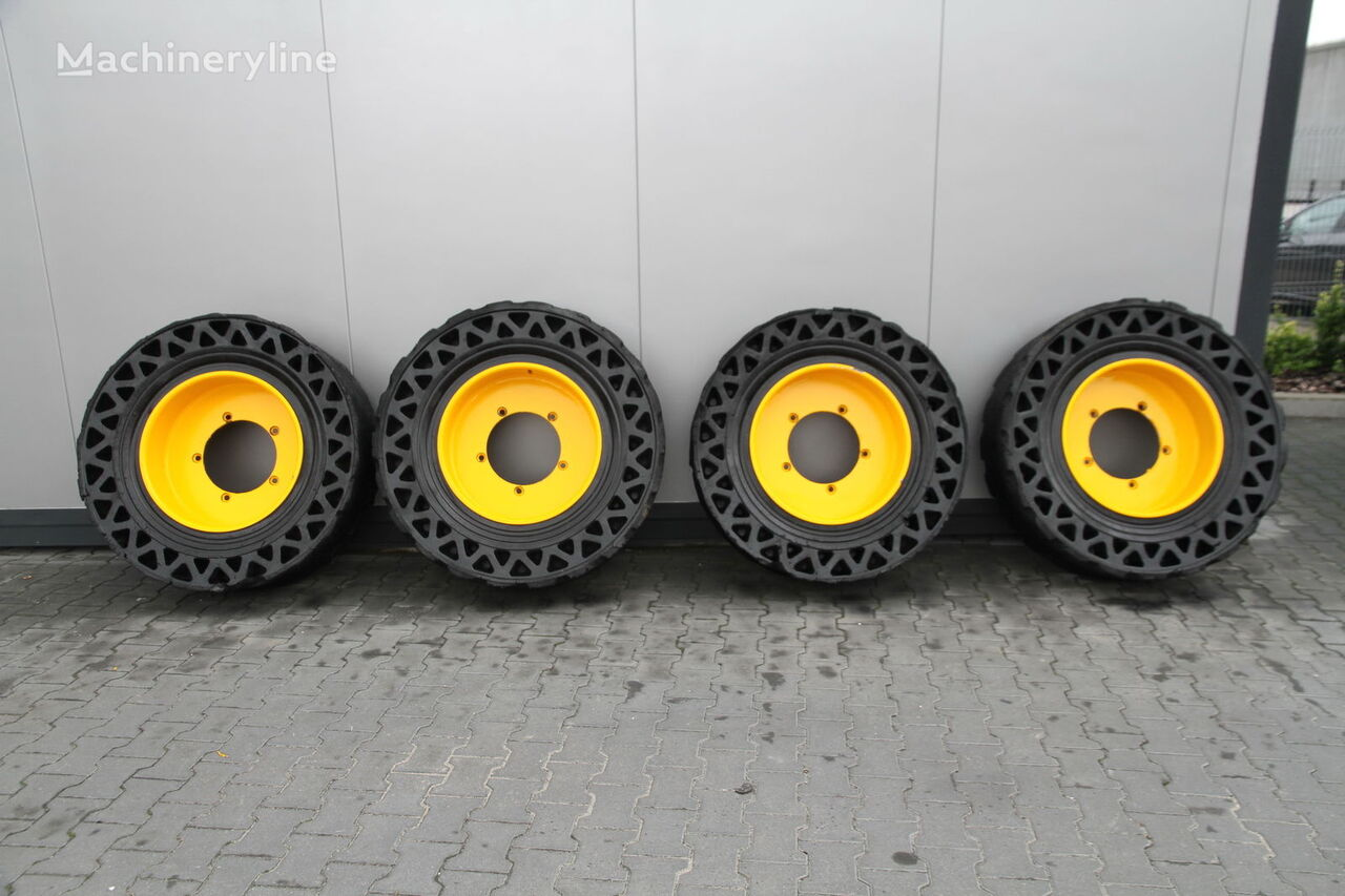Solideal SOLID TYRES  4 UNITS construction machinery tyre